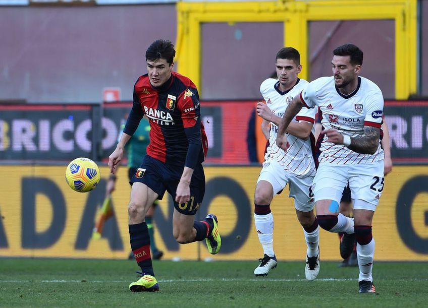 Eldor Shomurodov va semna cu AS Roma Foto: GettyImages