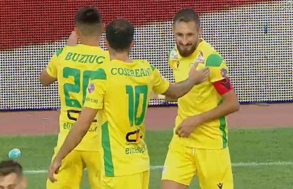 Academica Clinceni - CS Mioveni 1-1 » Trupa lui Ilie Poenaru încă așteaptă prima victorie a sezonului. CS Mioveni a depășit FCSB în clasament!