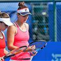 Simona Halep și Irina Begu au împărțit de multe ori terenul la dublu