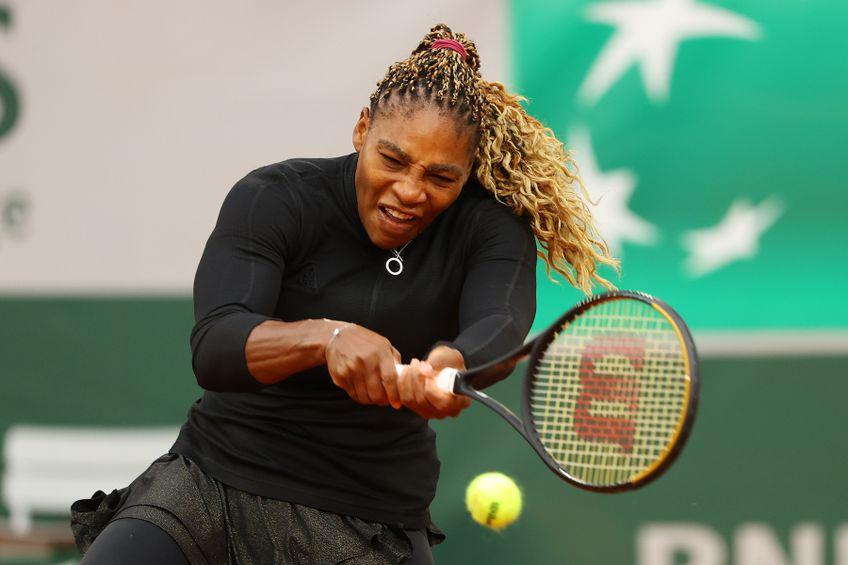 Serena Williams a jucat un singur meci pe zgura de la Paris FOTO Guliver/GettyImages