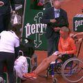 Kiki Bertens și Sara Errani au fost protagonistele meciului zilei de pe tabloul feminin de la Roland Garros. Sursă foto: Captură Twitter
