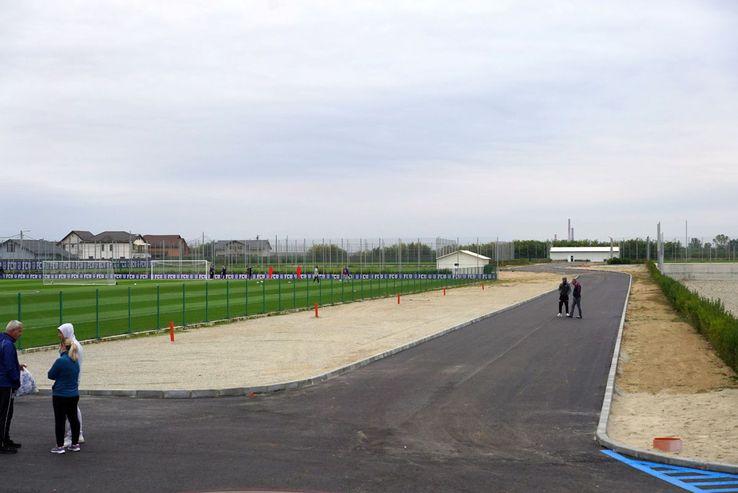 FCU Craiova și-a inaugurat ieri noua bază de antrenament / Sursă foto: Facebook Fotbal Club Universitatea 1948
