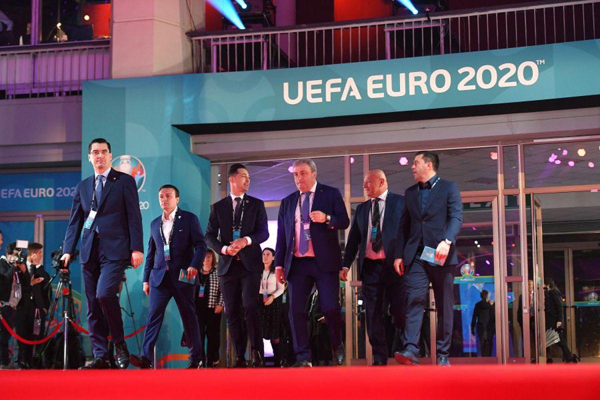 VIDEO+FOTO Tragerea la sorți a grupelor EURO 2020 » Ce grupă ar putea avea România + Dueluri de foc în grupa F, între Franța, Germania și Portugalia!