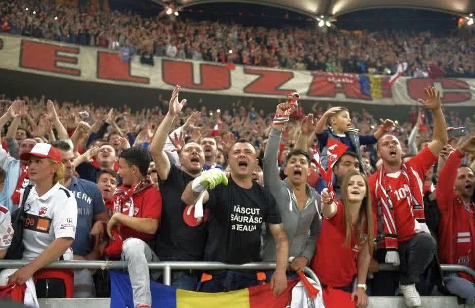 Suporterii lui Dinamo au răbufnit