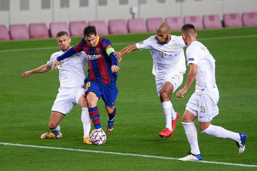 Barcelona - Ferencvaros 5-1 // foto: Guliver/gettyimages