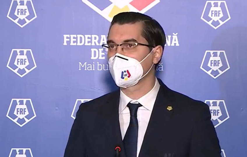 Răzvan Burleanu, președintele FRF, a lansat un atac la adresa lui Florin Cîțu, după ce ministrul de Finanțe a demarat un control ANAF la Federație.