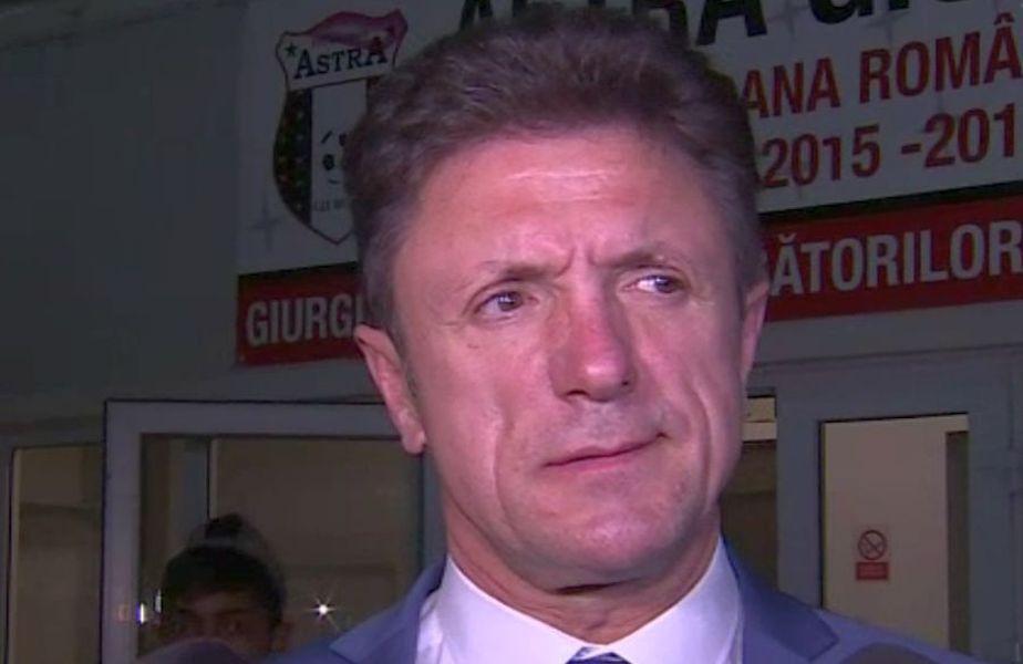 """Gică Popescu, 53 de ani, președintele Viitorului, l-a taxat pe Gabi Iancu (26), după declarațiile făcute de atacant la finalul înfrângerii cu Dinamo, scor 0-3, din """"16""""-imile Cupei României."""