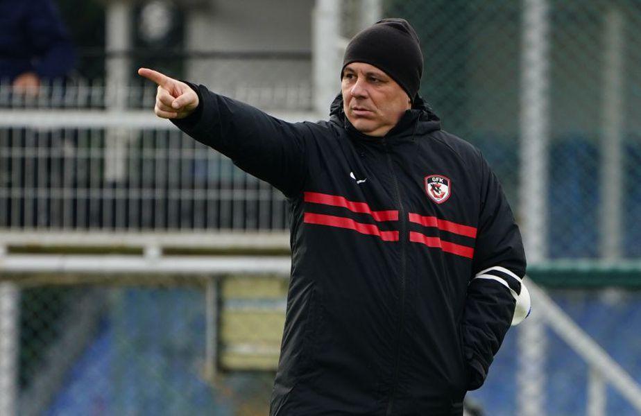 Marius Șumudică, 49 de ani, antrenorul lui Gaziantep, a lăsat de înțeles că ar fi tentat de o eventuală ofertă venită din partea lui CFR Cluj.