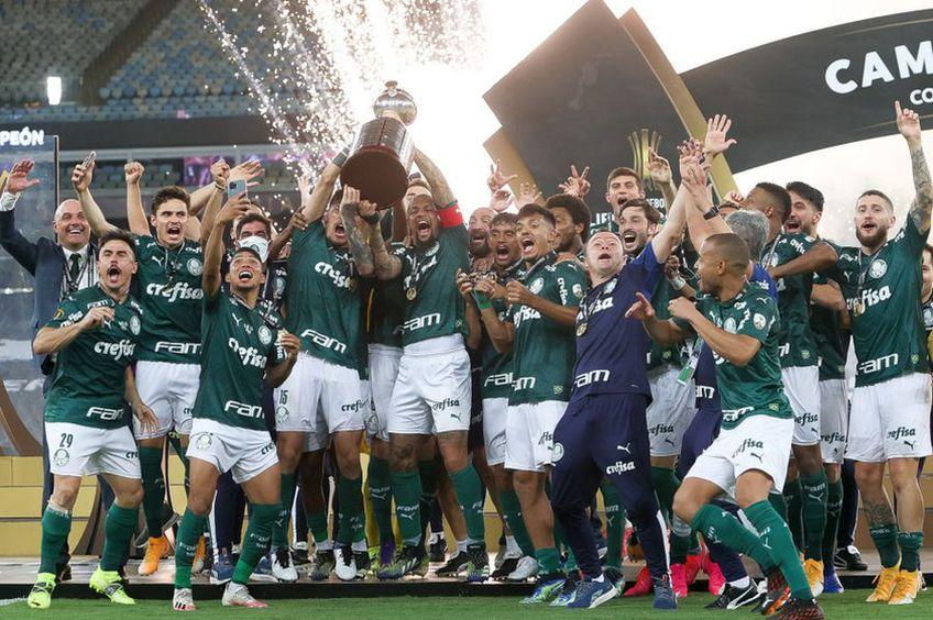 Palmeiras a cucerit Copa Libertadores // foto: Twitter @ SE Palmeiras