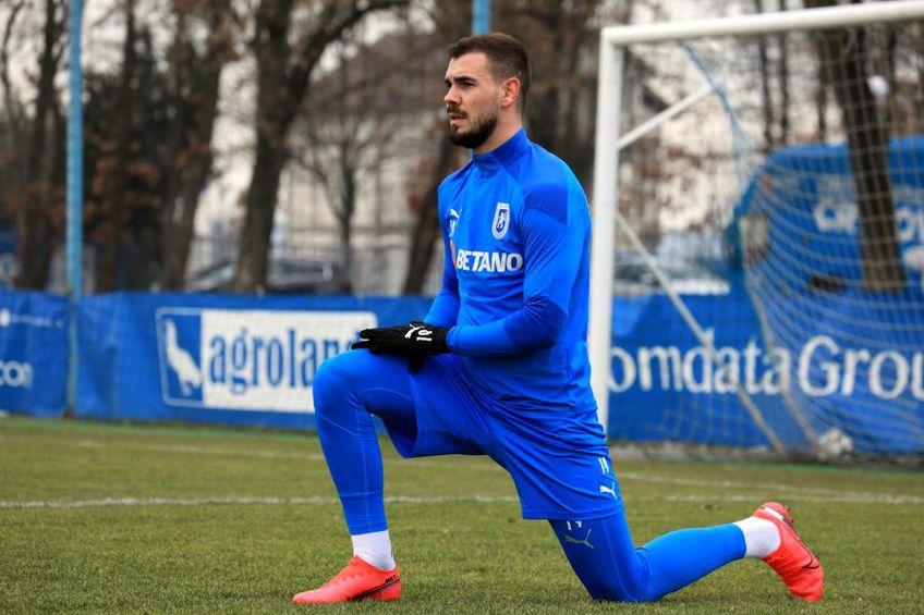 Elvir Koljic, la antrenamentul de duminică al Craiovei // foto: Facebook @ Universitatea Craiova