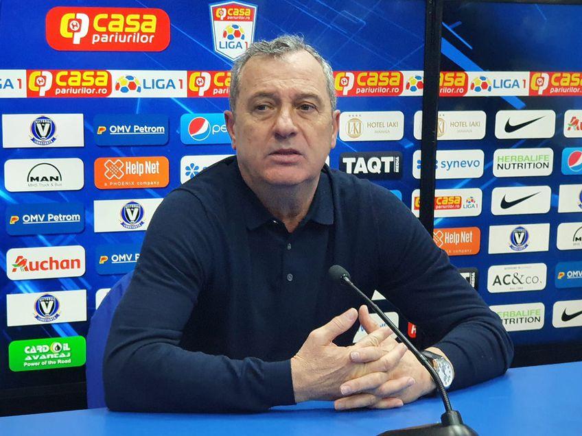 Mircea Rednic (58 de ani), antrenorul Viitorului, e de părere că Dennis Man (22 de ani) nu era cel mai bun fotbalist din Liga 1.