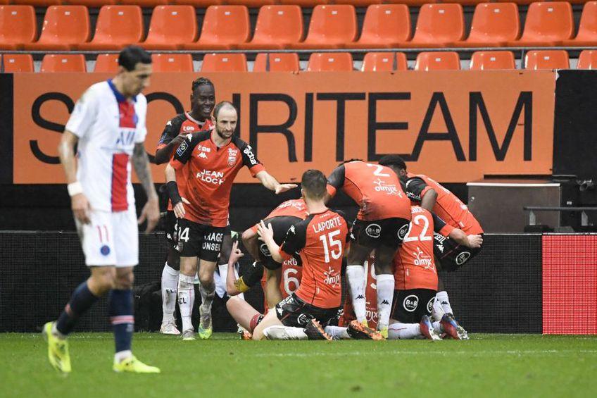 PSG a pierdut surprinzător în deplasarea de la Lorient, scor 2-3. Meciul a contat pentru runda #22 din Ligue 1.