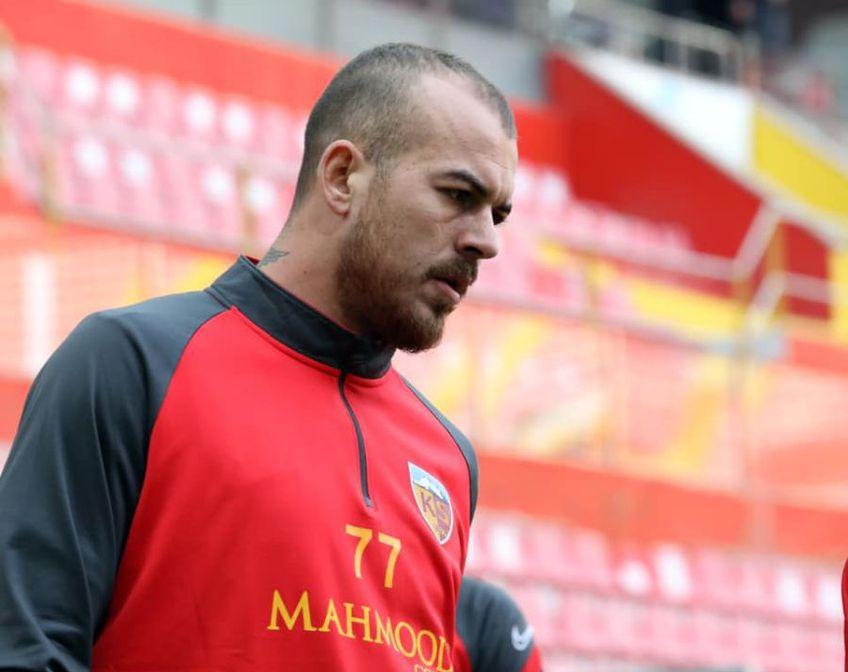 Denis Alibec (30 de ani) a fost supus unei intervenții chirurgicale la Barcelona, pentru ruptura unui tendon la aductori și nu va mai reintra în acest sezon la Kayserispor