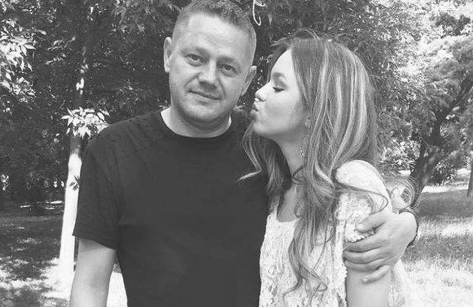 Martin Tudor, alături de fiica lui. foto: facebook