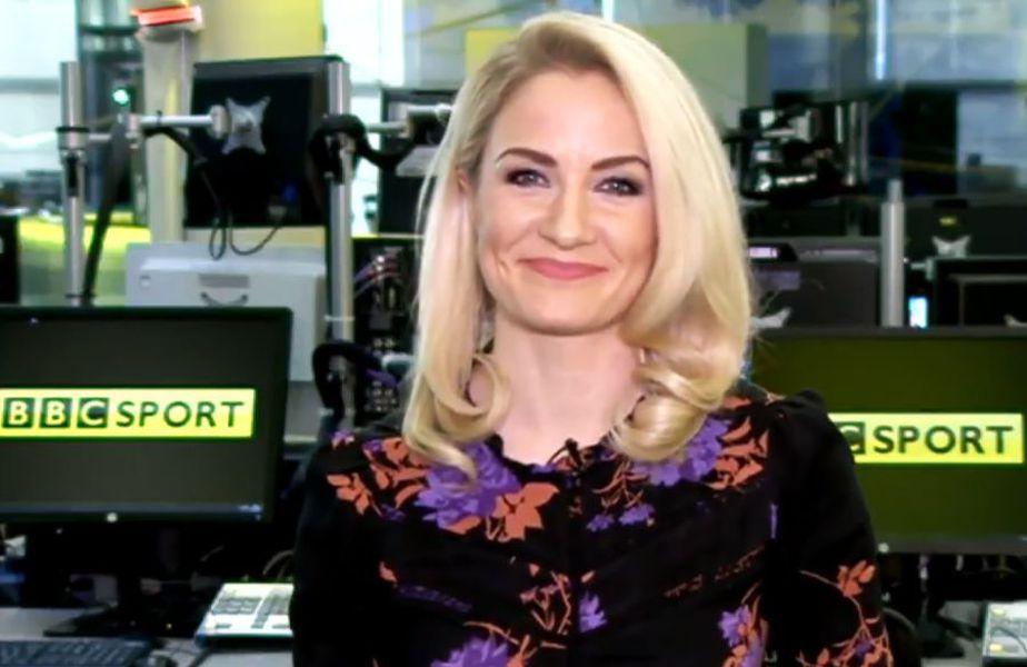 Holly Hamilton e jurnalistă cu o mare experiență la BBC