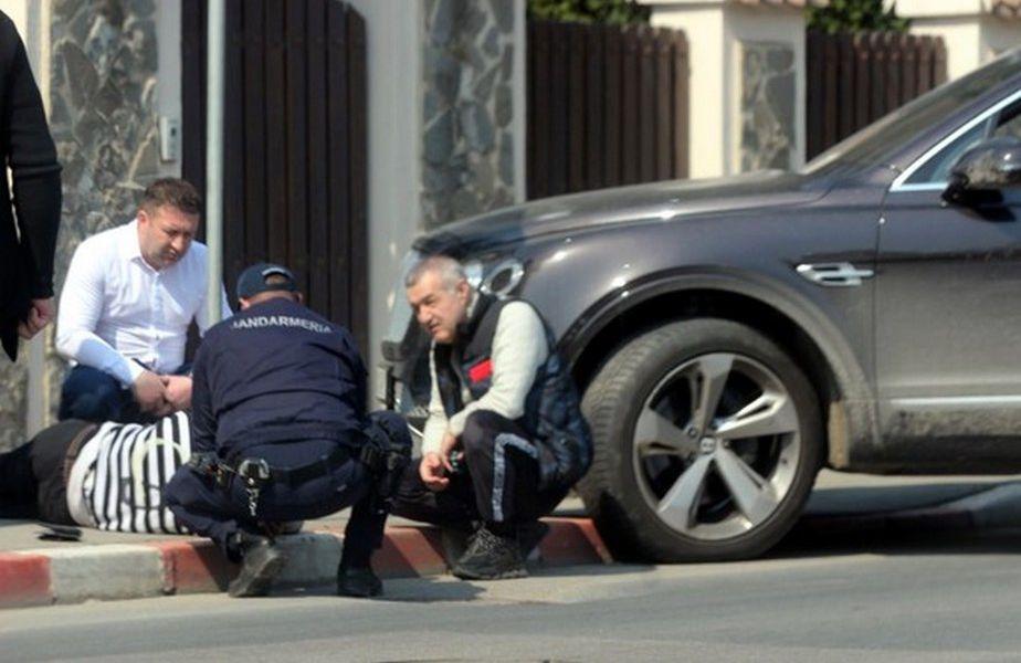 Gigi Becali a sărit să ajute o persoană aflată în dificultate. Sursa foto: Click