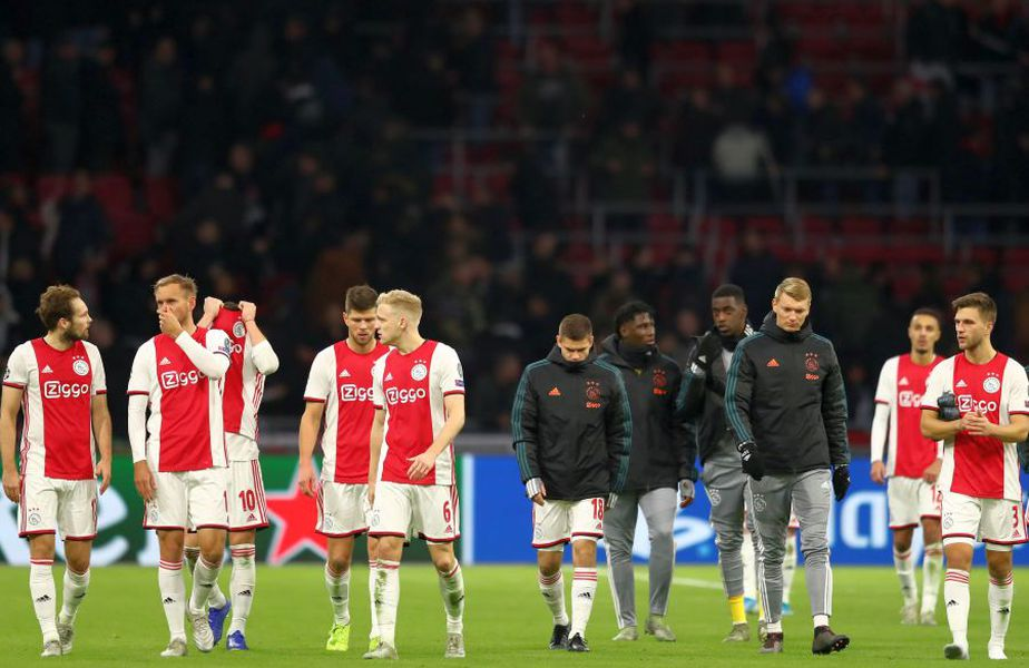 Ajax Amsterdam este liderul campionatului din Țările de Jos // sursă foto: Guliver/gettyimages