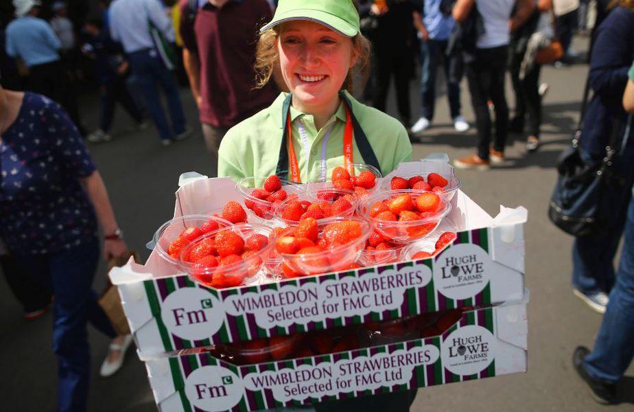 Poveștile speciale din jurul turneului de la Wimbledon continuă. foto: Guliver/Getty Images