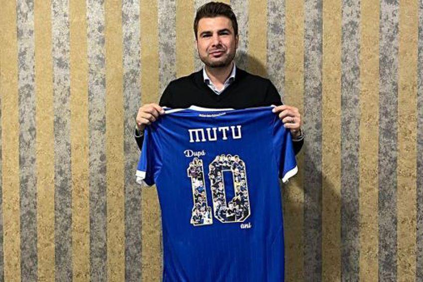 Adrian Mutu a devenit sponsor la U Craiova 1948