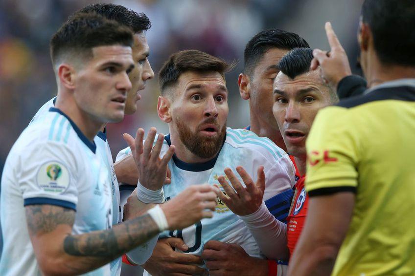 Visul lui Messi de a cuceri un trofeu cu naționala riscă se amâne // Foto: Getty Images