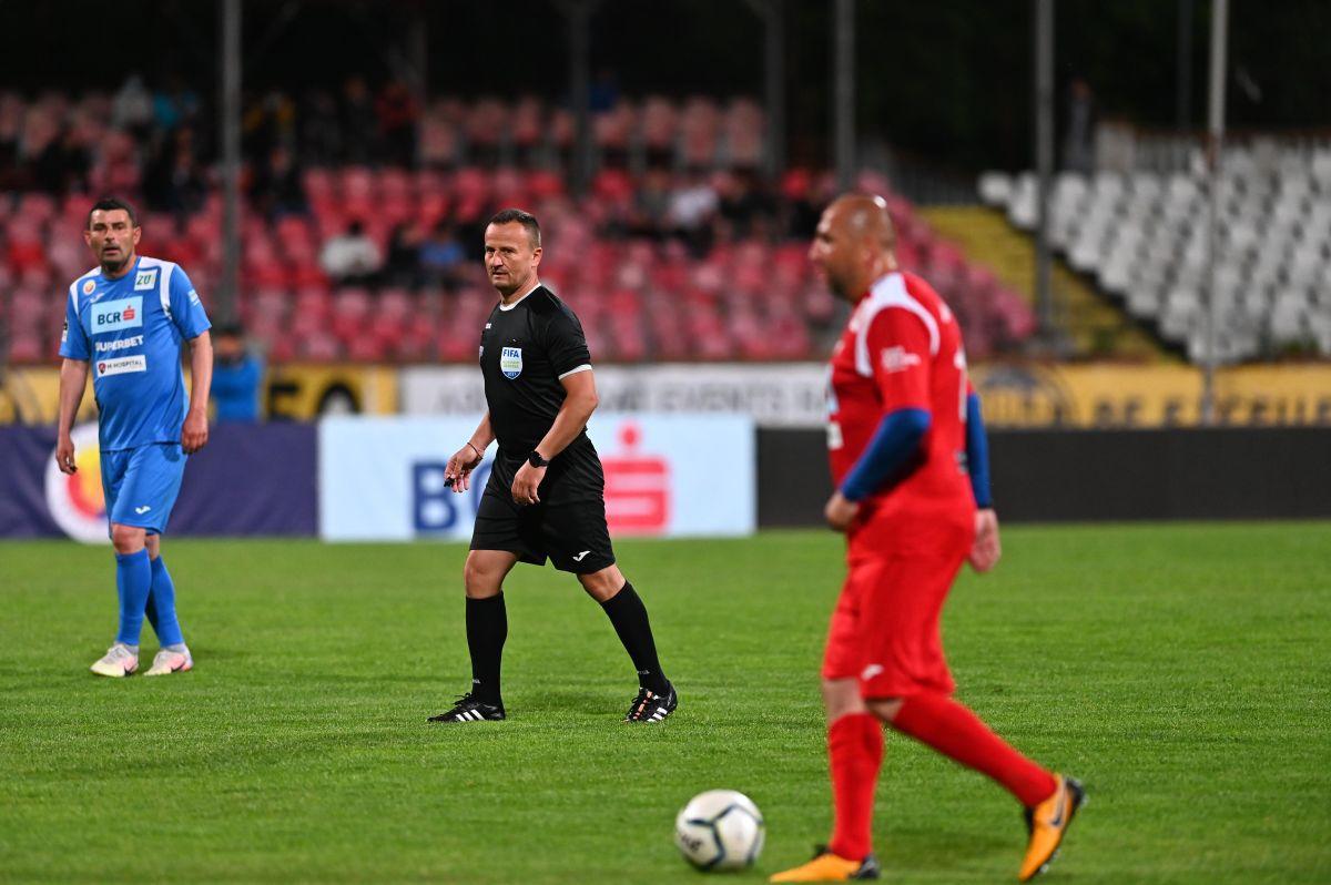 FOTO Meciul legendelor în Ștefan cel Mare » 12 goluri marcate de echipele lui Andone și Belodedici 31.05.2021