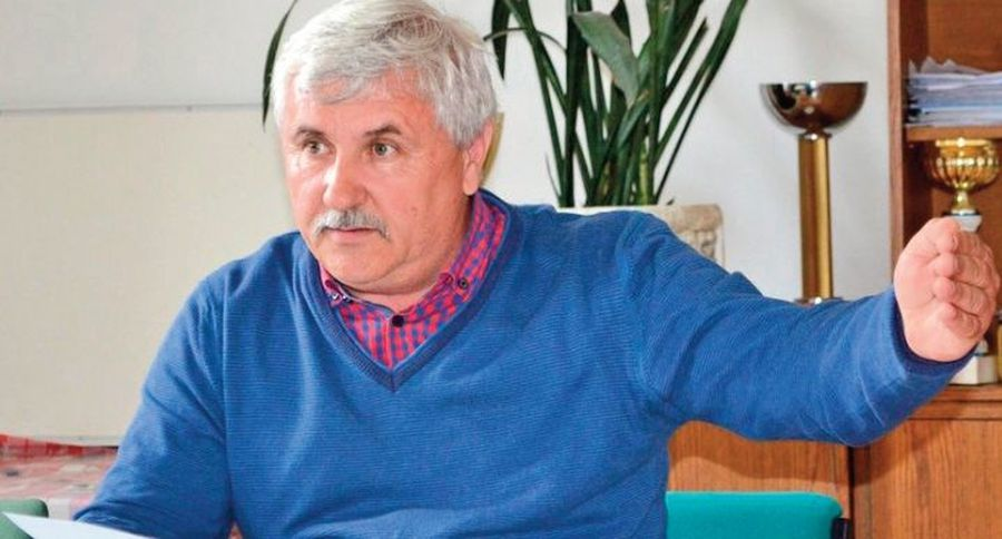 Ștefan Szilagyi, actualul președinte al AJF Satu Mare, fost conducător la Olimpia Satu Mare. Sursă: Gazeta Nord Vest
