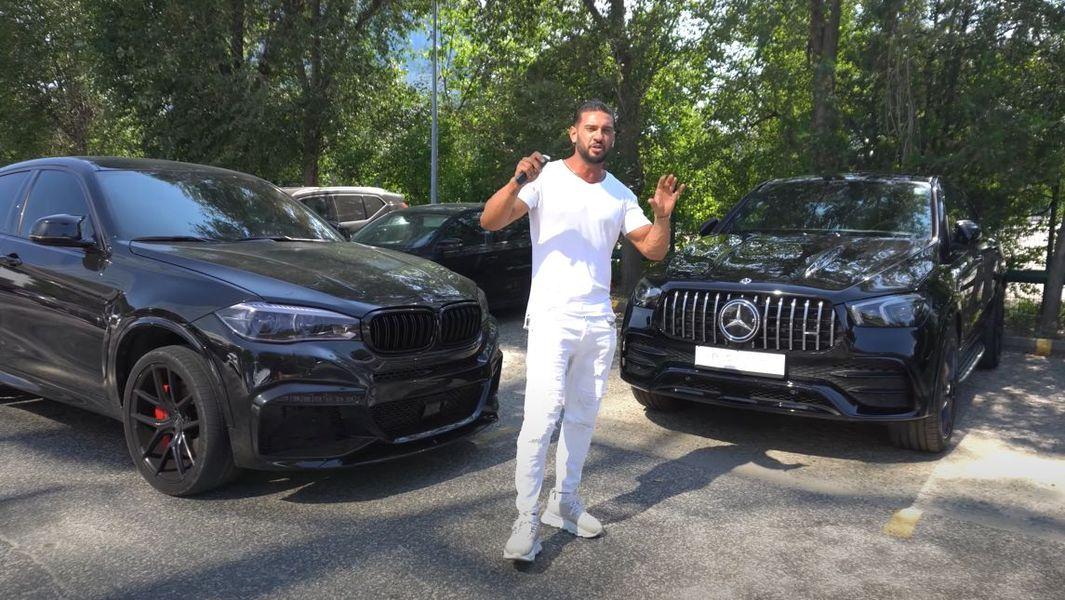 Dorian Popa - mașină nouă, Mercedes