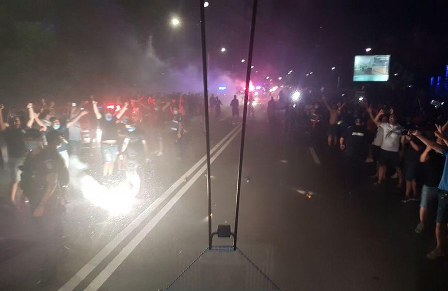 Ultrașii din Peluza SUD, amenințări înainte de CS Universitatea - CFR Cluj
