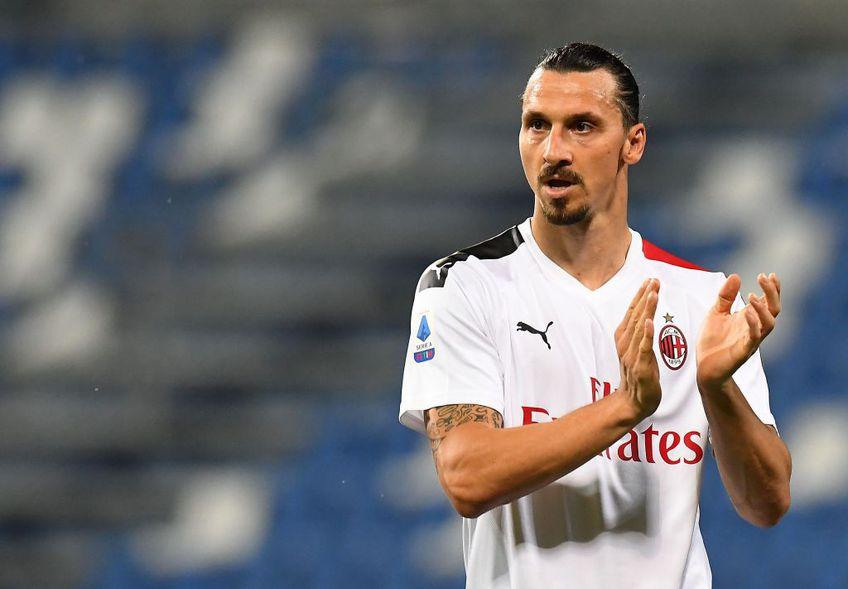 Zlatan Ibrahimovic a ajuns la un acord pentru un nou contract cu AC Milan FOTO: GettyImages