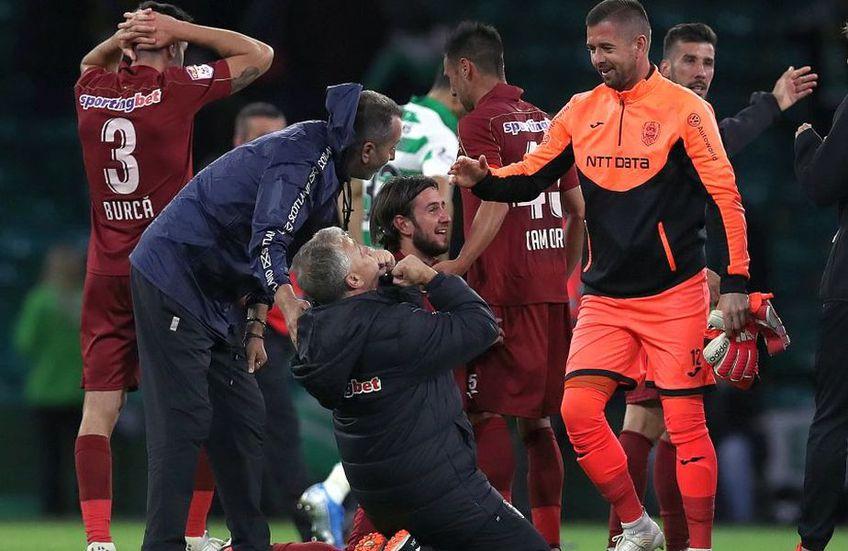 Pe CFR Cluj o ajută și victoria, și egalul cu FCSB