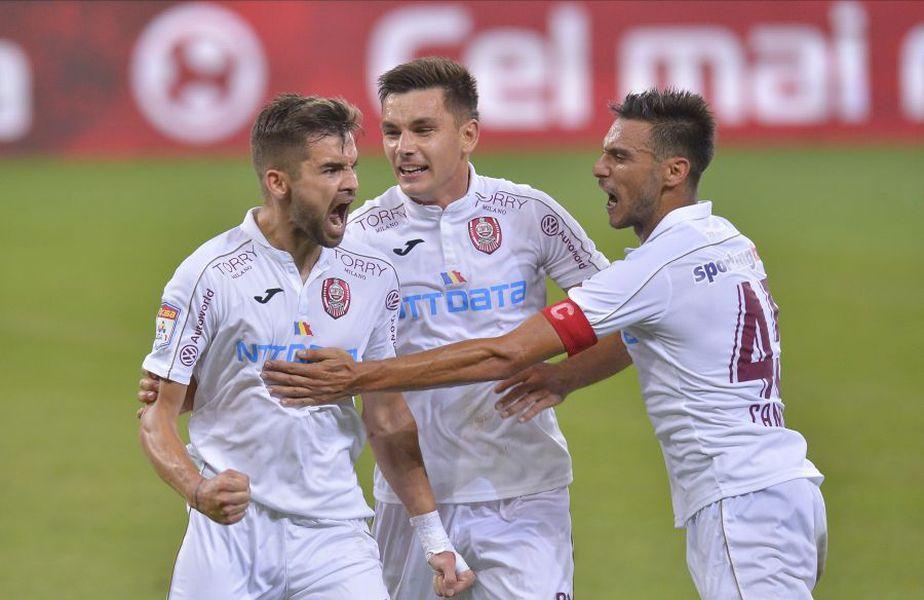 """CFR Cluj s-a impus pe """"Arena Națională"""" în fața lui FCSB, scor 2-0 // foto: Cristi Preda"""