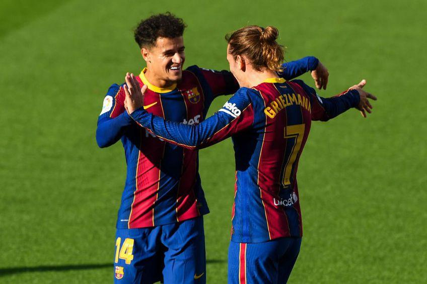 Coutinho și Griezmann vor continua la Barcelona Foto:GettyImages