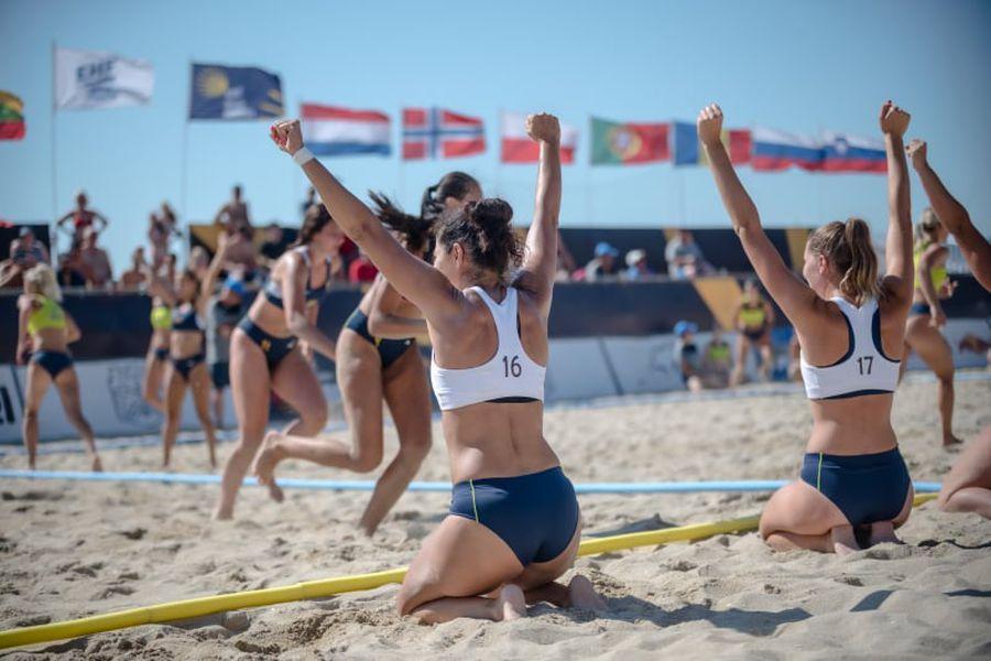 Ionica Munteanu a avut o experiență inedită în handbal pe plajă