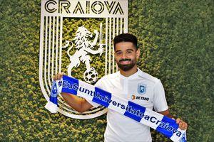 """Ionuț Vînă, prezentat oficial la CSU Craiova: """"Am ajuns la un club profesionist. Cariera mea a luat-o în jos de când am ajuns la FCSB"""""""