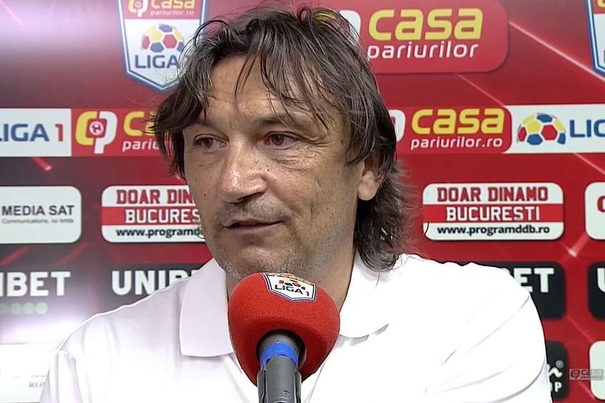 Dario Bonetti, antrenor Dinamo