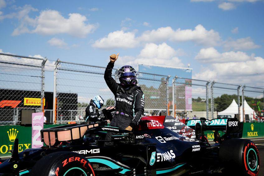 Lewis Hamilton pleacă din pole-position în MP al Ungariei // foto: Guliver/gettyimages