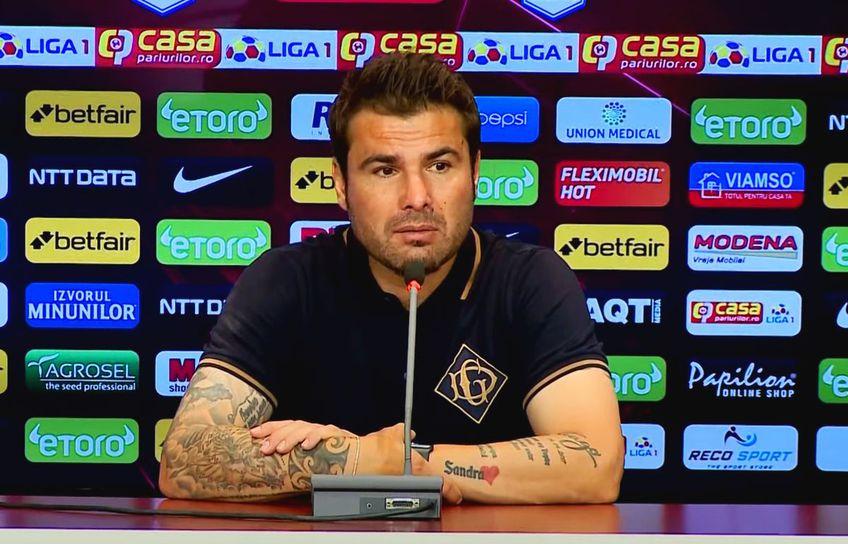 FC Voluntari a învins-o pe FCU Craiova, scor 2-1, în runda cu numărul 3 din Liga 1. Adrian Mutu (42 de ani), antrenorul oltenilor, crede că rezultatul nu a fost conform cu realitatea din teren.