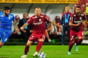 """CFR Cluj - Chindia Târgoviște 1-0 » Denis Alibec urcă """"vișiniii"""" pe primul loc! Clasamentul actualizat"""