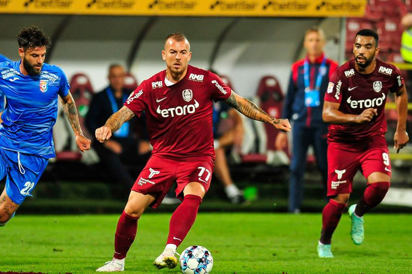 CFR Cluj - Chindia Târgoviște 1-0 // foto: Facebook