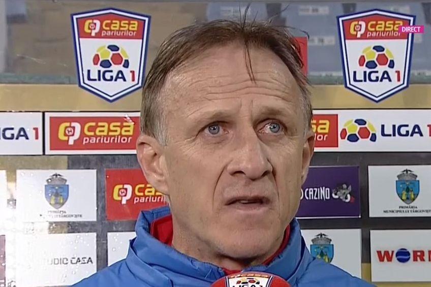 CFR Cluj a învins-o pe Chindia Târgoviște, scor 1-0, în etapa 3 a Ligii 1. Emil Săndoi (56 de ani) crede că detaliile au făcut diferența la meciul din Gruia.