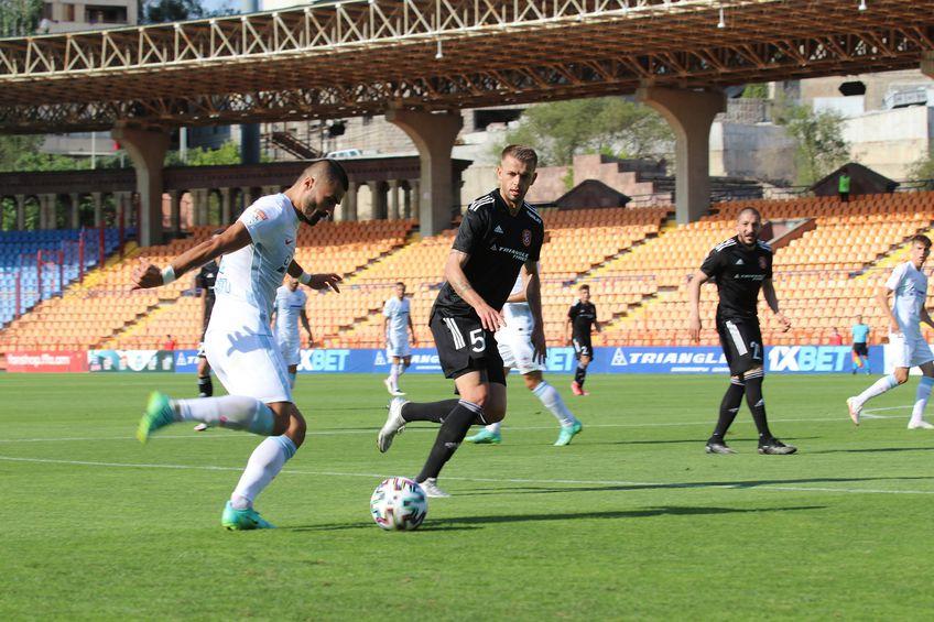 FCSB a fost eliminată de Șahtior Karagandy din Conference League, 1-0 în tur, 1-2 în manșa secundă (3-5 la lovituri de departajare).