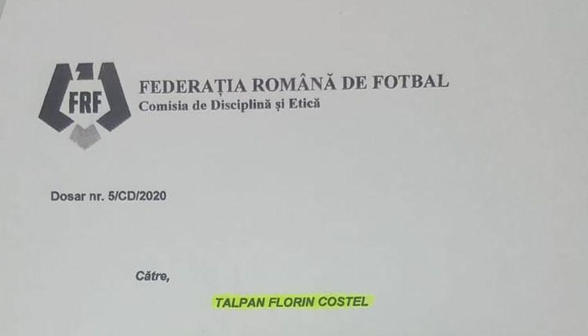 Florin Talpan, juristul CSA Steaua, a câștigat un proces cu Marian Lumînare, președintele AMFB (Asociația Municipală de Fotbal București).