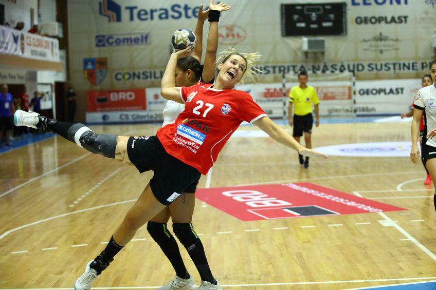Sabina Jacobsen a jucat primul meci oficial la Brăila FOTO Marius Ionescu