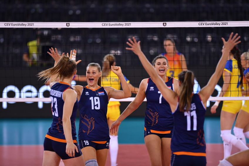 Olandezele au ajuns din nou în semifinale la Euro. Pentru a șaptea oară FOTO Marius Ionescu
