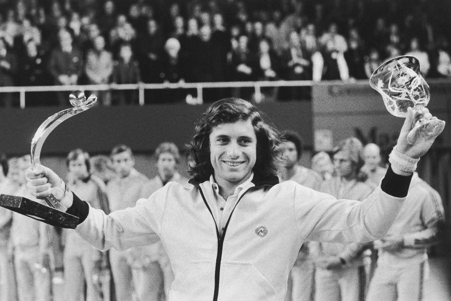 Guillermo Vilas în 1975 FOTO Guliver/GettyImages