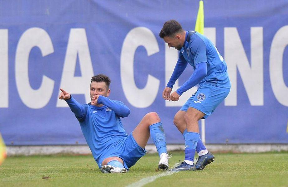 Raul Rusescu a dat un gol și a ratat un penalty în Clinceni - Sepsi 2-0