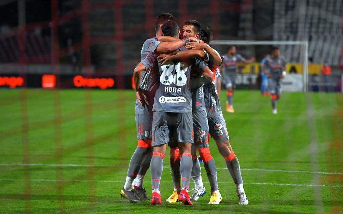 FC Botoșani - UTA 2-3 » FOTO+VIDEO Arădenii, pe loc de play-off după thriller-ul din Moldova! Clasamentul