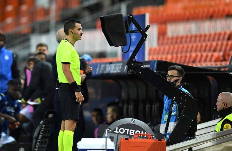 Ovidiu Hațegan a folosit deja sistemul VAR în Champions League. Sursă foto: Getty