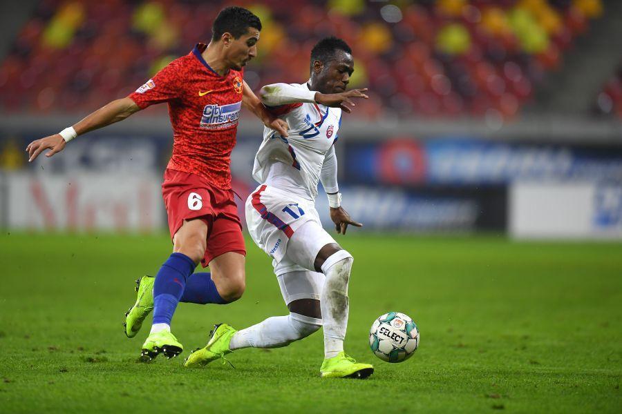 Marius Briceag, într-un meci cu FC Botoșani