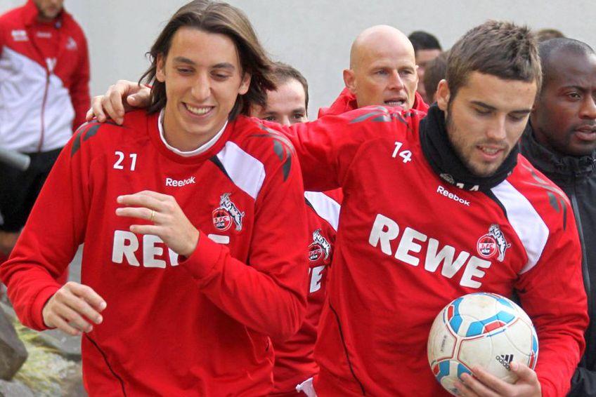 Alexandru Ioniță I (dreapta), la FC Koln // foto: Imago